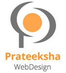 A great web designer: Prateeksha Web Design, Mumbai, India logo