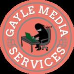 A great web designer: Gayle Media Services, New York City, VT logo