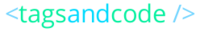 A great web designer: tagsandcode, Chicago, IL logo