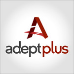 A great web designer: AdeptPlus, Chicago, IL logo