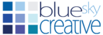 A great web designer: Blue Sky Creative, Kent, United Kingdom logo