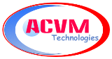 A great web designer: ACVM Technologies, Lucknow, India logo