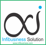 A great web designer: Infibusiness Solution, Vadodara, India logo
