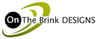 A great web designer: On The Brink Designs, Seattle, WA logo