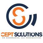 A great web designer: Cept Solutions LLC, New Cantonment, India logo