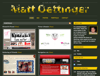 A great web designer: Matt Oettinger, Reston, VA logo