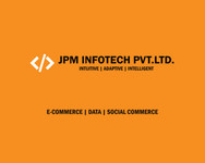 A great web designer: Jpm Infotech Pvt Ltd, Rajkot, India logo
