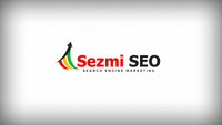 A great web designer: Sezmi SEO , Seattle, WA logo