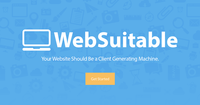 A great web designer: WebSuitable, Toronto, Canada logo