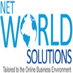 A great web designer: Net World Solutions, Delhi, India logo