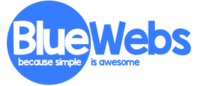 A great web designer: BlueWebs, Portsmouth, United Kingdom logo