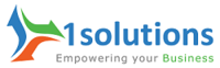 A great web designer: 1Solutions, Delhi, India logo
