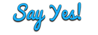 A great web designer: Say Yes! Media Solutions, Ahmedabad, India logo