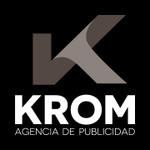 A great web designer: KROM AGENCY, Seville, Spain logo