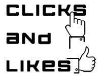 A great web designer: Clicks and Likes, Hyderabad, India logo