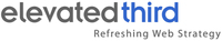 A great web designer: Elevated Third, Denver, CO logo
