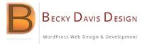 A great web designer: Becky Davis Design, Chicago, IL logo