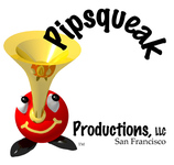 A great web designer: Pipsqueak Productions, LLC, San Francisco, CA logo