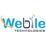 A great web designer: Webile Technologies, Ahmedabad, India logo