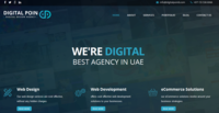 A great web designer: DigitalPoin8 - Web Design Dubai, Dubai, United Arab Emirates logo