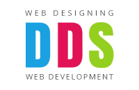 A great web designer: DDS, Rajkot, India logo