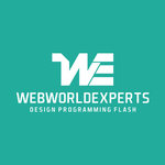 A great web designer: Webworld Experts, Chandigarh, India logo