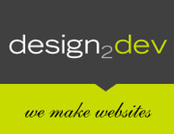 A great web designer: :::: Design2Dev, New York, NY logo