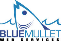 A great web designer: Blue Mullet Web Services, Mobile, AL logo