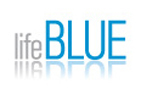A great web designer: lifeBLUE Media, Dallas, TX logo