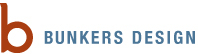 A great web designer: Bunkers Design, Inc, Denver, CO logo