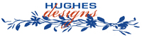 A great web designer: Hughes Designs, Denver, CO logo