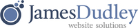 A great web designer: James Dudley, Boston, MA logo