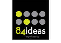 A great web designer: 84ideas, Hyderabad, India logo
