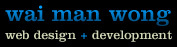A great web designer: Wai Man Wong, San Diego, CA logo