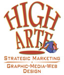 A great web designer: HIGH ARTE , Los Angeles, CA logo