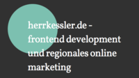 A great web designer: herrkessler.de, Duesseldorf, Germany