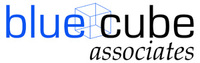 A great web designer: blue cube associates, Kansas City, KS logo