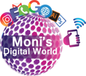 A great web designer: Moni's Digital World, Chennai, India