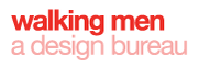 A great web designer: Walking Men, Brussels, Belgium logo