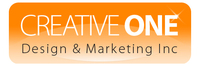 A great web designer: Creative One Design & Marketing Inc, Toronto, Canada logo