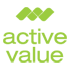A great web designer: active value GmbH, Duesseldorf, Germany logo