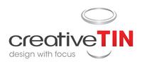 A great web designer: creativeTin, San Diego, CA logo