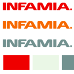 A great web designer: Infamia, Washington DC, DC logo