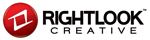 A great web designer: Rightlook Creative, San Diego, CA logo