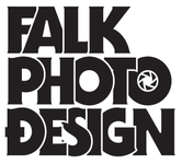 A great web designer: Falk Photo Design, San Diego, CA logo