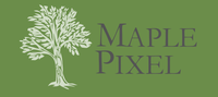 A great web designer: MaplePixel, Burlington, VT logo