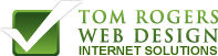 A great web designer: Tom Rogers Web Design, Boston, MA logo