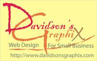 A great web designer: Davidson's GraphiX, Parkersburg, WV logo