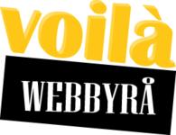 A great web designer: Voilà Webbyrå, Stockholm, Sweden logo