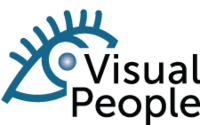 A great web designer: Visual People Design, Corvallis, OR logo